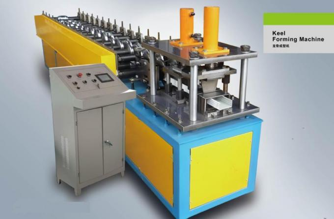 380V 50HZ 3 Phase Stud Roll Forming Equipment 13 Station Forming With Embossing