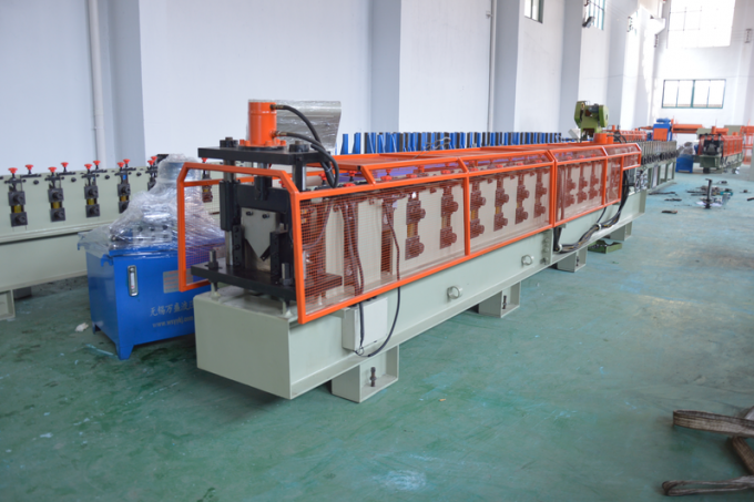 High Speed Colour Steel Angle Profile Making Machine , metal roll forming systems