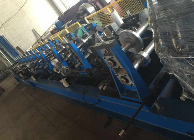 High Speed 11KW CZ Purlin Roll Forming Machine , Gi Coil or Carbon Steel Roll Form Machine