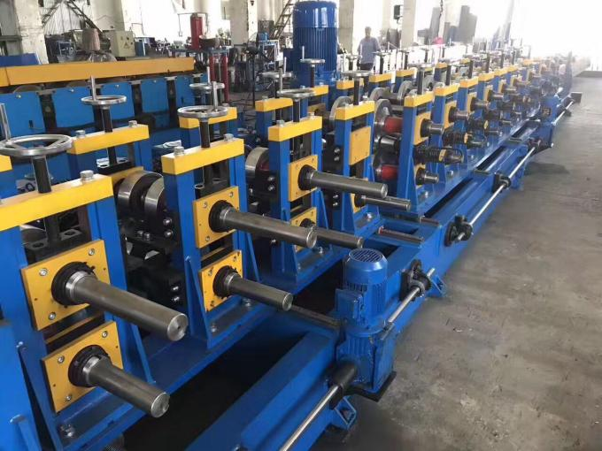 High Speed 80-300mm Width Adjustable CZ Purlin Roll Forming Machine High Speed Fully Automatic