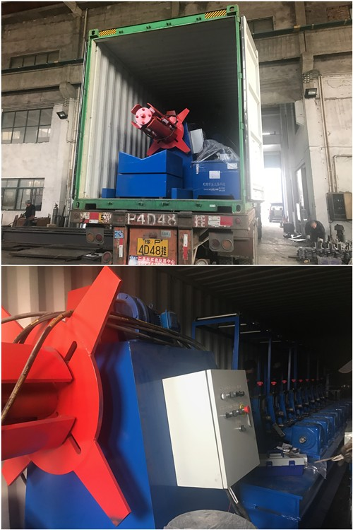 Customized Color Durable Shutter Door Cold Roll Forming Machine 8 - 10 M / Min
