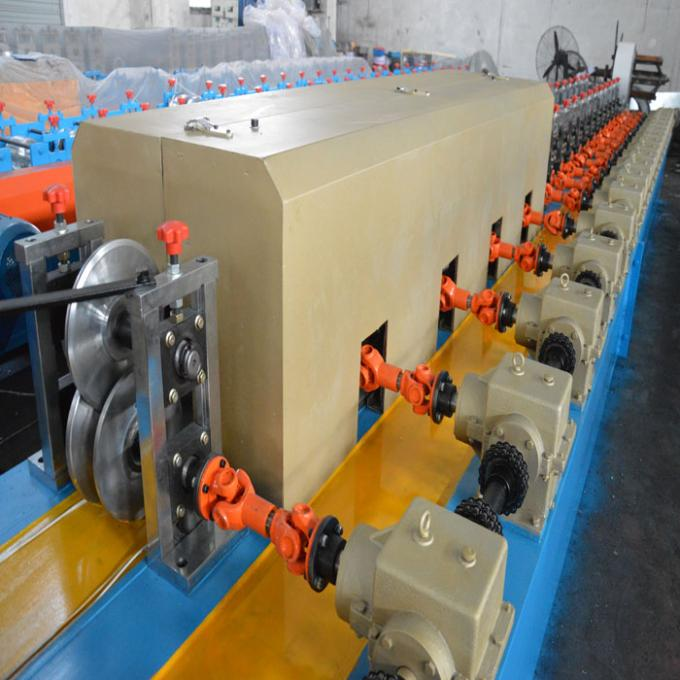 Cold Roll Forming Machine PU Shutter Door Rolling Form Machine 8 - 15 m / Min