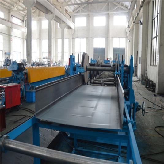 Color Customized Chain Drive Economic Cable Tray Roll Forming Machine Hydraulic Punching