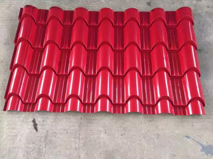 1.25M Width Trapezoid Roof Panel Roll Forming Machine For Commercial Metal Buildings