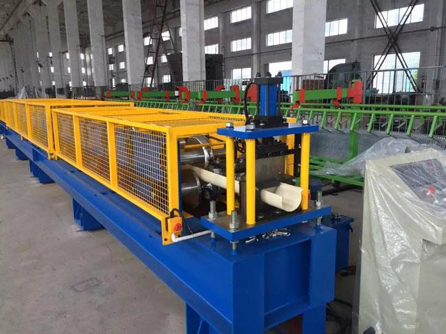 Portable Gutter Roll Forming Machinery for Aluminum and Galvanized Steel Coil