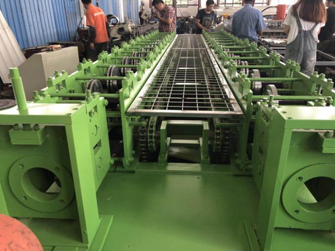 Side By Side Two In One Sheet Metal Roll Forming Machines 12 - 15m/min in Blue