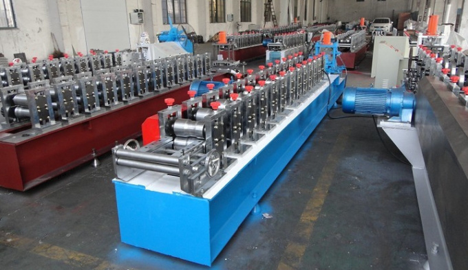 0.7-1.2mm Galvanized Steel Shutter Door  Edge Covering Roll Forming Machine pLC Control Fully Automatic