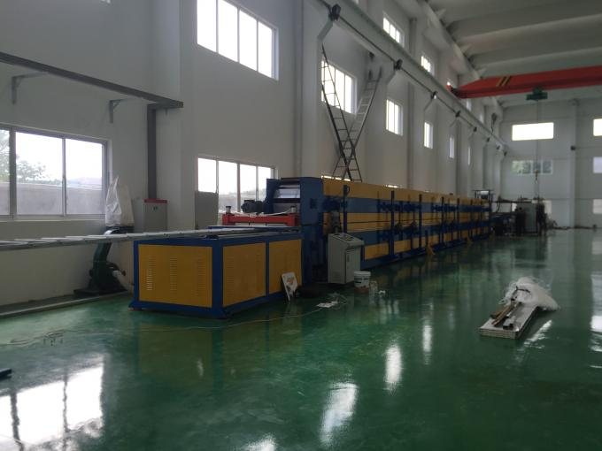 Automatic Punching PU Shutter Door Roll Forming Machine Flat Injection 24 * 0.6 * 0.9m