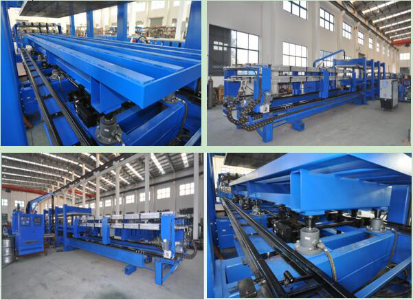 Fly Saw Cutting HRC58-62 11Kw Main Power PU Shutter Door Roll Forming Machine 380V 50HZ
