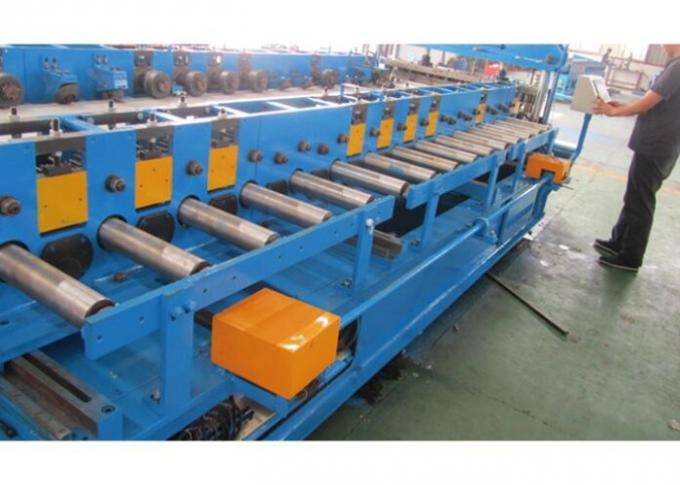 20 Steps Door Frame Roll Forming Machine , Cold Roll Forming Equipment With Hydraulic Cutting