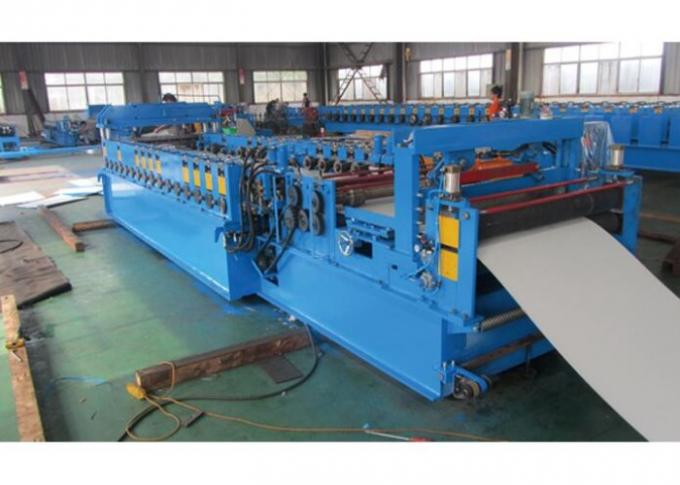 3-10 m / Min Steel Door Frame Manufacturing Machines Chain Drive System