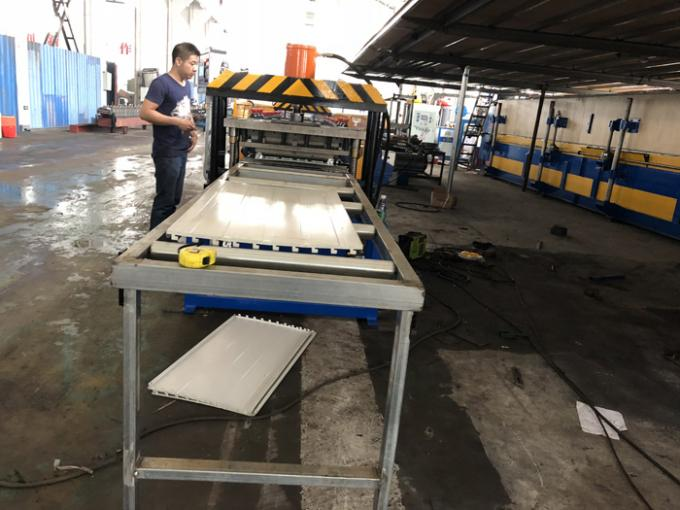 5KW  Motor Power Shelf Box Roll Forming Machine With 3 -15 m/min Working Speed