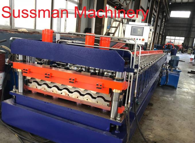 Metal Roofing Sheet Rolling Former Machine , Cold Roll Forming Machine