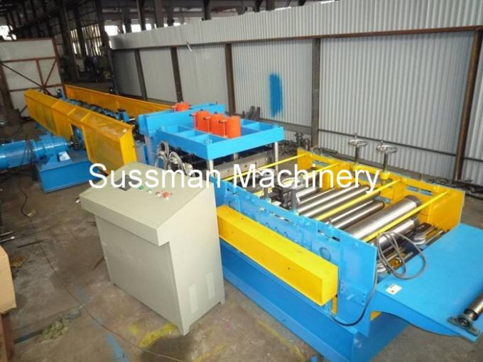 10m / Min Speed CZ Purlin Roll Forming Machine With PLC Industrial Computer