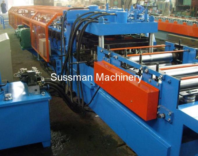 1.5-3.0mm Thickness CZ Purlin Roll Forming Machine With 15 T Gross Weight