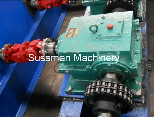 3 - 5 Mm Roller Thickness Guard Rail Roll Forming Machine With PLC Control System