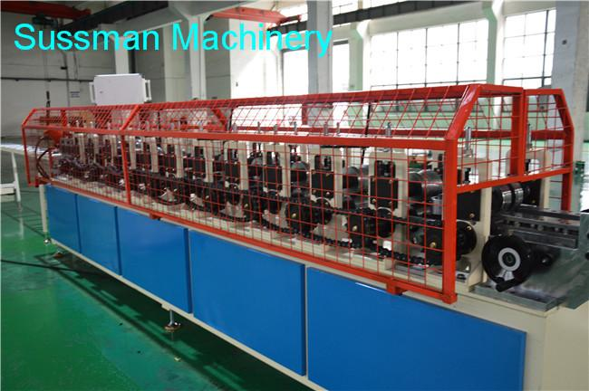 Galvanized Metal Top Hat Roof Channel Roll Forming Machine