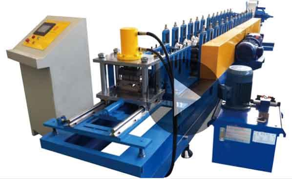 Galvanized Steel Rolling Shutter Strip Making Machine, Australia Metal Steel Rolling Shutter Door Machine