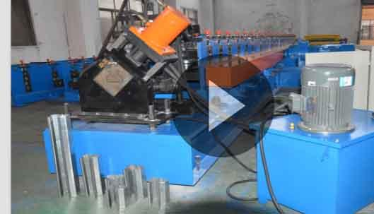 Heavy Duty Warehouse Rack Roll Forming Machine Galvanized Steel Roll Forming Equipment