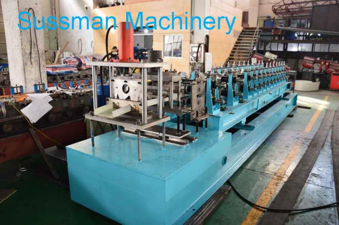 Mild Steel CZ Purlin Roll Forming Machine , C Lipped Channel Roll Forming Machine