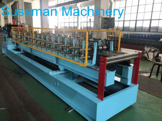 C Section Frame Roof Purlins Sheet Rolling Machine For 80 To 300mm High Strength Galvanized Steel