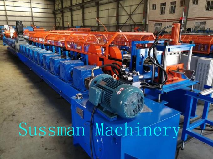 22 Rollers Upright Post Roll Forming Machine For Container House Gearbox Transmission
