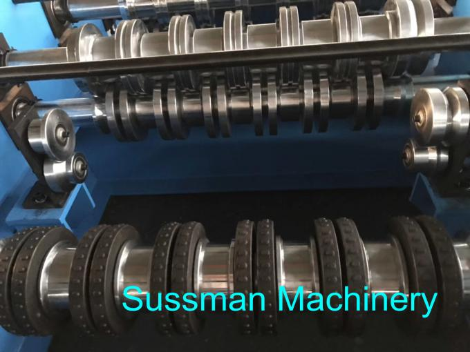 Automatic Control Metal Floor Deck Roll Forming Machine With Lifetime Service