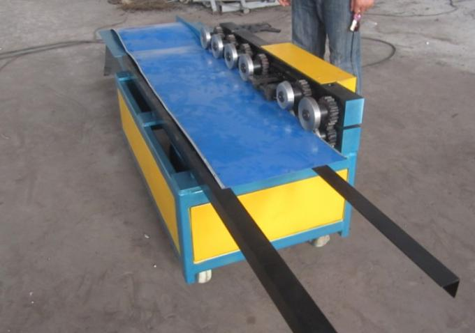 0.3-1.0Mm Pittsburgh Profile Lock Roof Panel Roll Forming Machine With 0.75 KW Motor