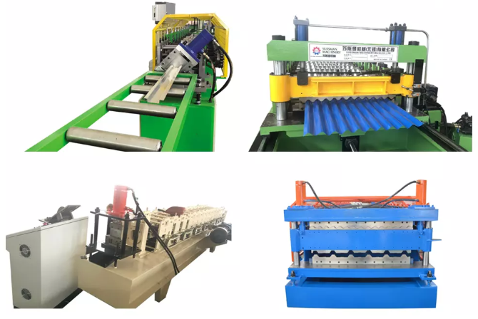 GI Aluminum Roof Panel Standing Seam Roll Forming Machine For Residential Roofs