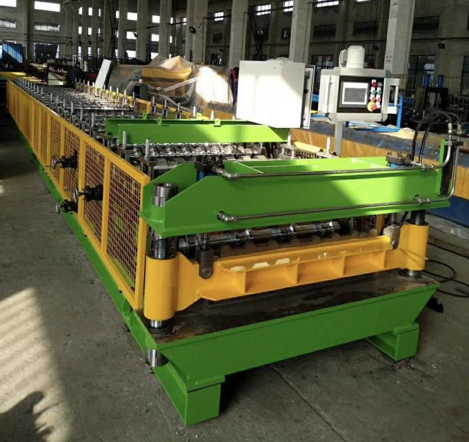Fast Roof Panel Roll Forming Machine , Mini Corrugated Panel Roll Forming Machine