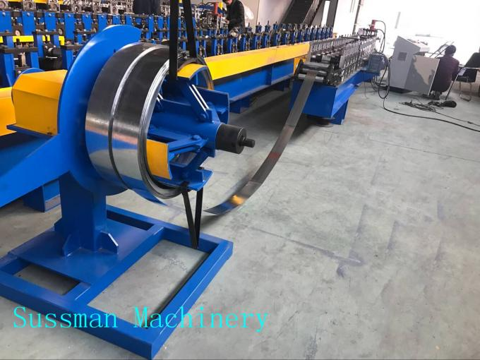 30-50m / Min Light Gauge Steel Drywall Stud Roll Forming Machine For House Frame