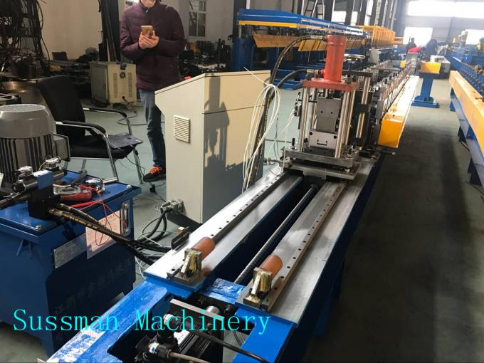 Drywall Stud And Track Roll Forming Machine / Steel Drywall CD UD Profile Making Machine
