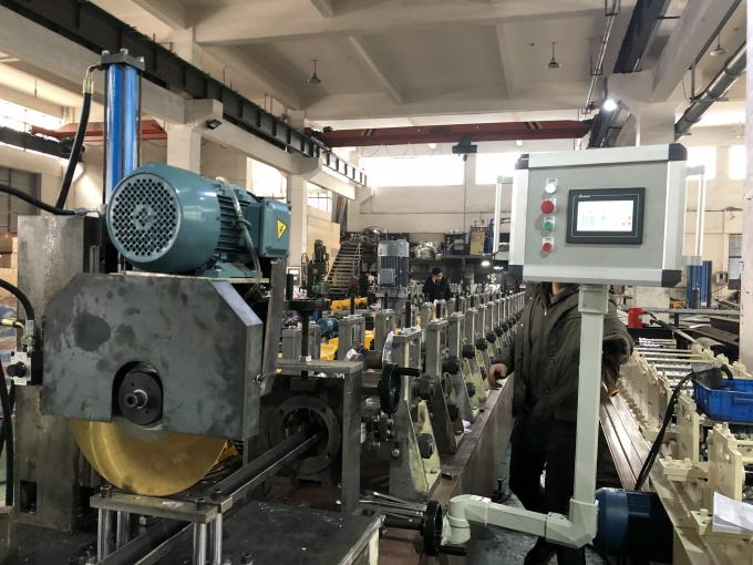 380V 50Hz Steel Sheet Making Machine With Automatical Perforation System