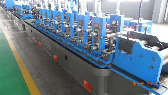 Material Thickness 1.0-2.5mm, Width 63-238mm Straight-Seam Welded Pipe Cold Roll Forming Machine