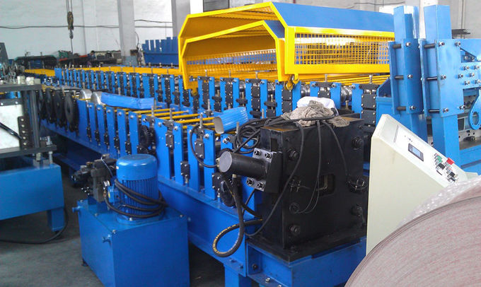 Chain Drive Square  Downspout Pipe Roll Forming Equipment High Speed 6-12m/min  Advanced Technology