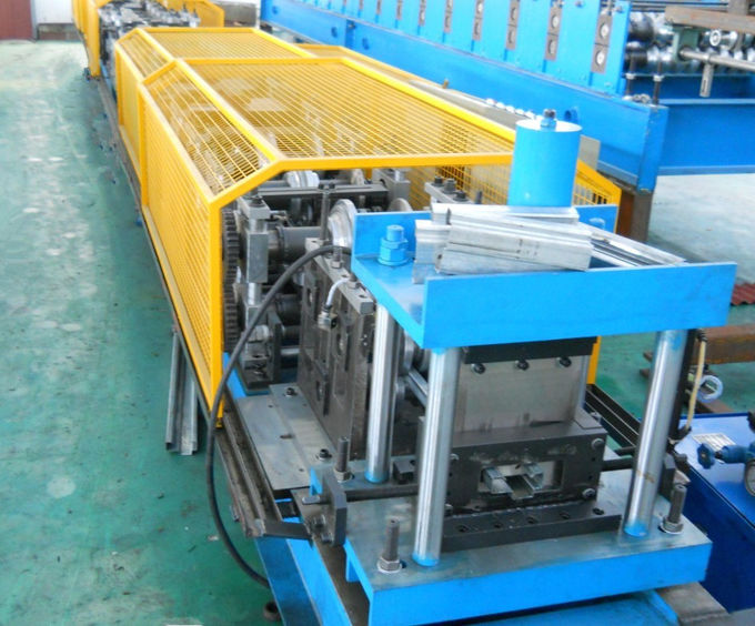 Durable 1.5-2mm Galvanized  Steel Door Frame Cold Roll Forming Equipment ,PLC Control Automatic
