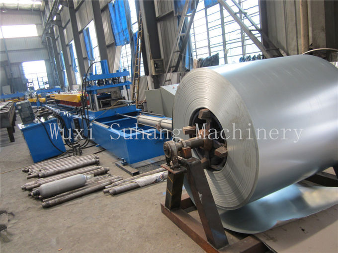 Customized galvanized cold steel  Zed Z purling roll forming machine 18 roller stations