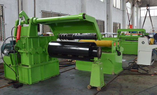Automatic Metal Material Folding Slitting Line Machine For 1-5mm Galvanized Steel