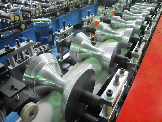 16 stations Forming Stations 5-10m/min Ridge Cap Roll Forming Machine 4Kw motor