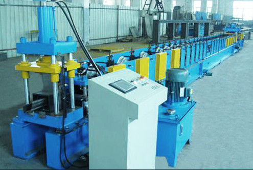 Forming Speed 15m / Min Door Frame Roller Making Machine Gearbox Driving System