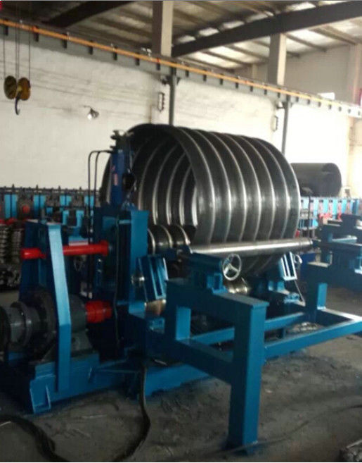 Steel Silo Corrugated Side Panel Roll Forming Machine Arch Style Building Machine